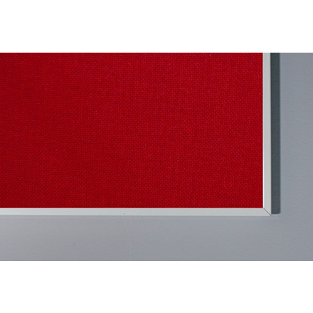 Lintex Boarder Stof opslagstavle med aluramme 60 x 90 cm - FLERE FARVER