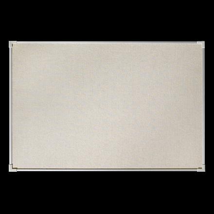 Lintex Boarder opslagstavle 200 x 120 cm - naturstof med aluminiumsramme