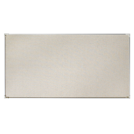 Lintex Boarder opslagstavle 250 x 120 cm med aluramme - Naturstof