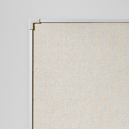 Lintex Boarder Opslagstavle 90 x 120 cm - Naturstof med aluramme