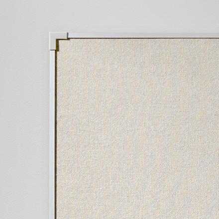 Lintex Boarder Opslagstavle 45 x 60 cm - Naturstof med aluramme