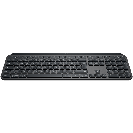 Logitech MX Keys Advanced Wireless Illuminated Keyboard, Graphite (No