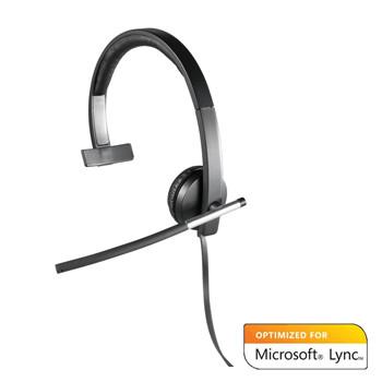 Logitech UC H650e USB Headset Mono