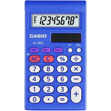 Lommeregner Casio SL-450S hardbox 8 cifre