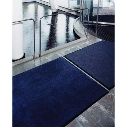 Matting Solett tørremåtte med kantliste - 60 x 90 cm grå PP/vinyl