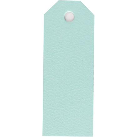 Manilamærker, lys blå, str. 3x8 cm, 220 g, 20stk.