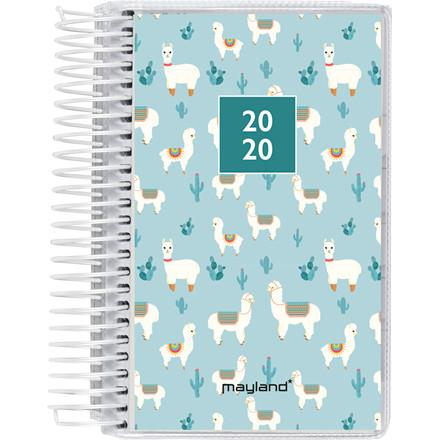 Minispiralkalender m/4 illustrationer 8x13cm 1dag/side 20 2305 00
