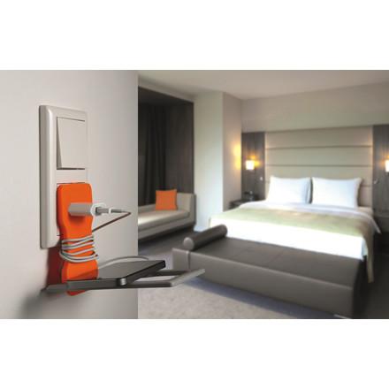 Mobilholder VARICOLOR orange t/opladning
