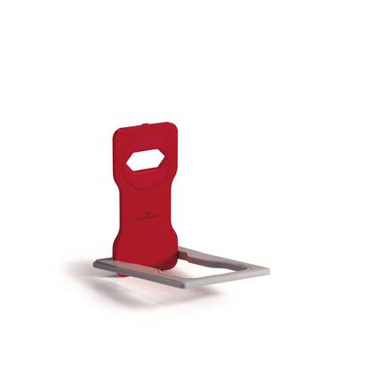 Mobilholder VARICOLOR rød t/opladning