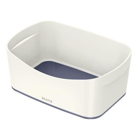 Opbevaringsbakke Leitz MyBox hvid/grå