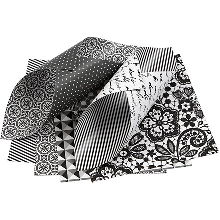 Vivi Gade Origamipapir Paris ark 10 x 10 cm 80 gram - 50 ass. ark
