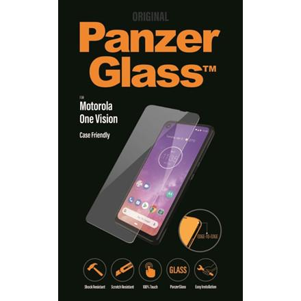 PanzerGlass Motorola One Vision Case Friendly