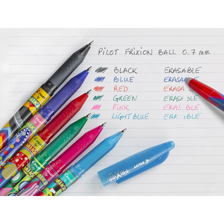 Pilot FriXion Ball - Mika Limited Edition - Sort 0,7 mm