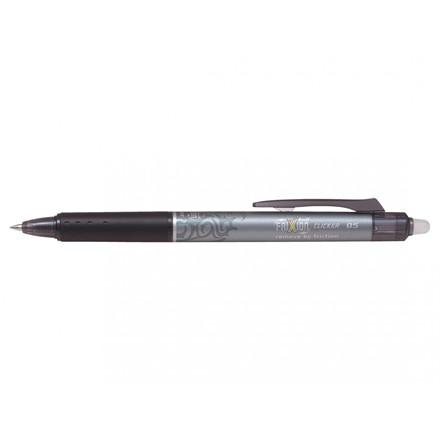 Pilot FriXion Ball Clicker 0,5 mm - Sort Rollerball Pen