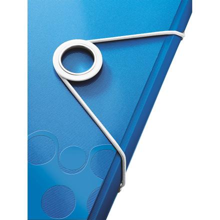 Elastikmappe A4 Leitz WOW blå | 45990036
