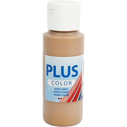 Plus Color hobbymaling, antique gold, 60ml