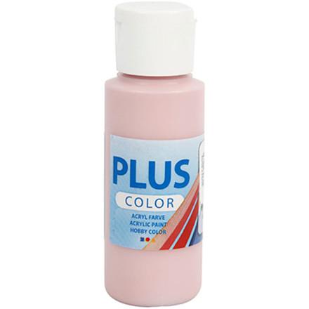 Plus Color hobbymaling, dusty rose, 60ml