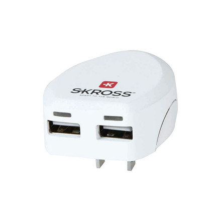 Rejseadapter SKROSS World Pro Dual USB