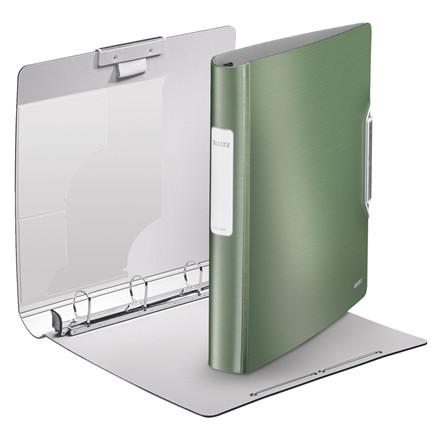 Leitz Style A4 ringbind med 4 ringe og 52 mm ryg 42450053 - celadon grøn