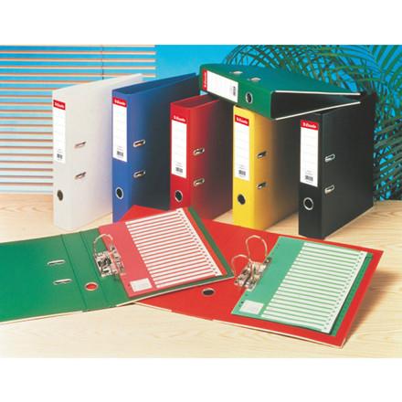 Rygetiketter Esselte lang model til brevordner med 75 mm ryg - 100 stk i pakke