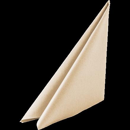 Servietter buttermilk - 40 x 40 cm - Soft airlaid - 60 stk, i en pakke