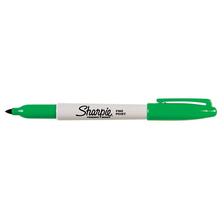 Sharpie Fine Permanent Marker - Grøn 1,0 mm