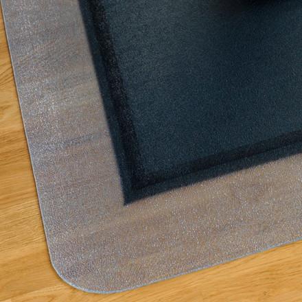 Stoleunderlag sort og neutral - Sid og Ståmåtte Matting Yoga - 120 x 150 cm