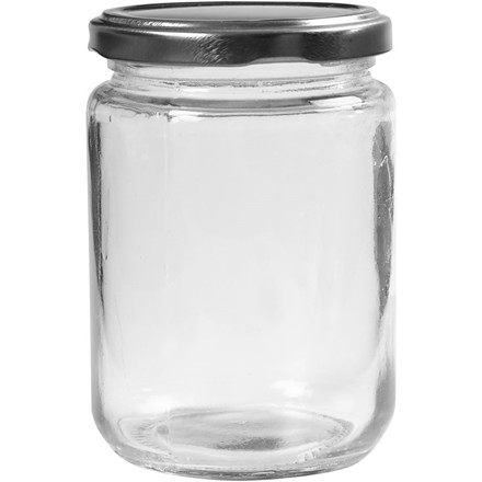 Sylteglas med låg 370 ml H: 11 cm Ø: 7,5 cm - 6 stk.