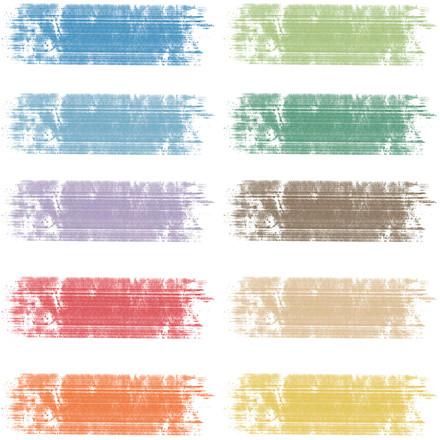 Tavlekridt, L: 8 cm, dia. 10 mm, ass. farver, 10x10stk.