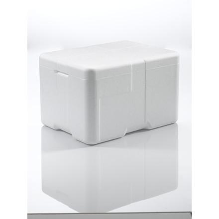 Termokasse Coolsafe 2 hvid - 400 x 300 x 247 mm - inkl. låg