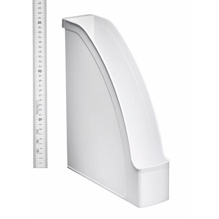 Tidsskriftsamler A4 Leitz Plus med 70 mm ryg - Hvid