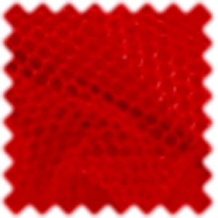 Tyl 50 cm bred rød - længde 5 m