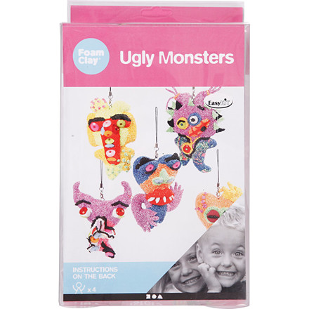 Ugly Monster - 1 sæt small