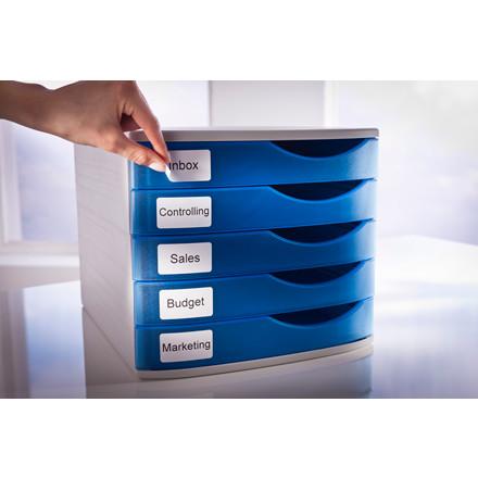 Avery AS0722550 - Aftagelige etiketter 19 x 51 mm til Dymo Labelwriter - 500 etiketter
