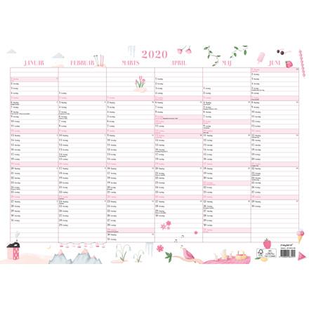 Vægkalender A3 Annies 30x42cm 20 0632 00