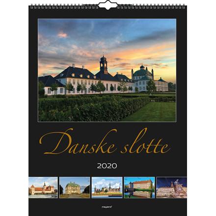Vægkalender 2020 Danske slotte 29,5x39cm 20 0662 00