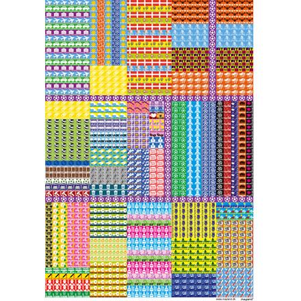 Vægkalender Familiens års 5 kolonner 27x42cm 20 0662 40
