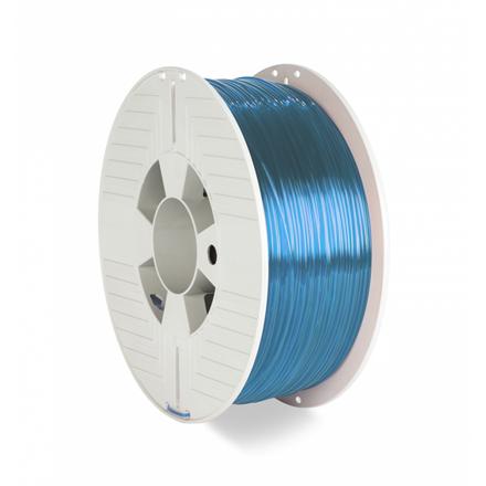 Verbatim 3D Printer Filament PET-G 1.75MM 1KG BLUE TRANSPARENT