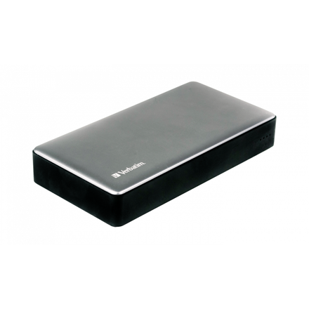 Verbatim Powerbank 20000Mah Silver Metal Qc3 & USB-C