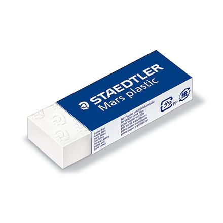 Viskelæder Staedtler Mars plastic 526 50 -  65 x 23 x 12 mm