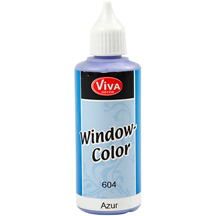 Viva Decor Window Color, azure, 80ml