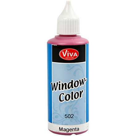 Viva Decor Window Color, magenta, 80ml