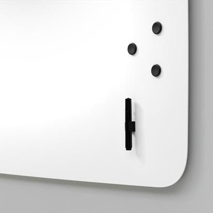 Whiteboardtavle - Lintex AIR Flow 200 x 120 cm hvid