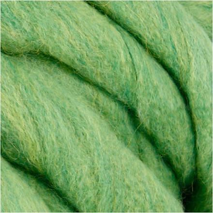 XL kæmpegarn af akryl/uld længde 15 meter lime grøn mega - 300 gram