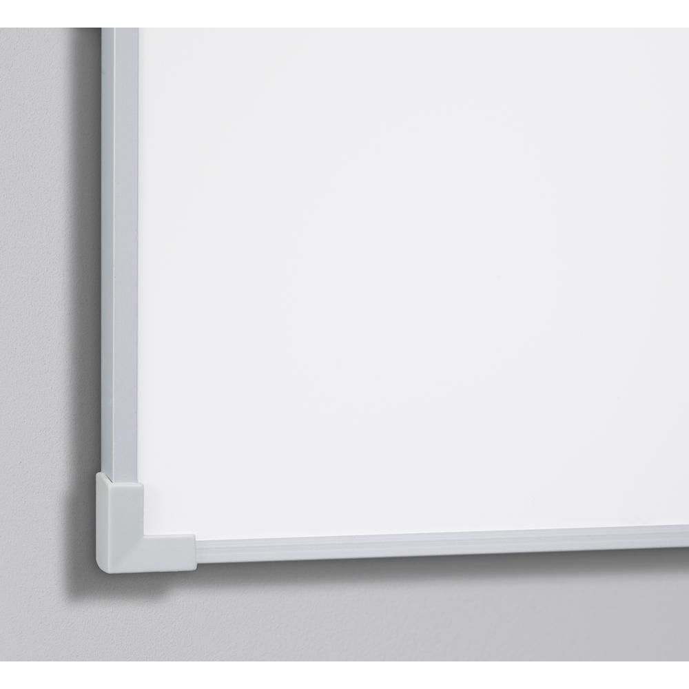 whiteboard 90 x 120 cm lakeret lintex med aluramme. Black Bedroom Furniture Sets. Home Design Ideas