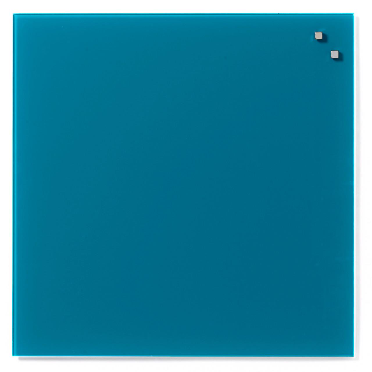 Hypermoderne Naga Glas tavle - magnetisk 45 x 45 cm aqua grøn - Køb billigt på YZ-65
