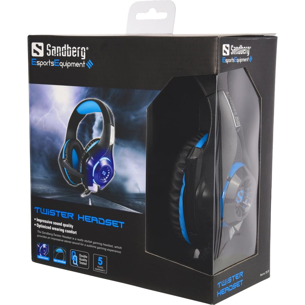 Sandberg Twister Gaming Headset - Køb billigt på Grafical.dk 0fe8d3a92e5d4