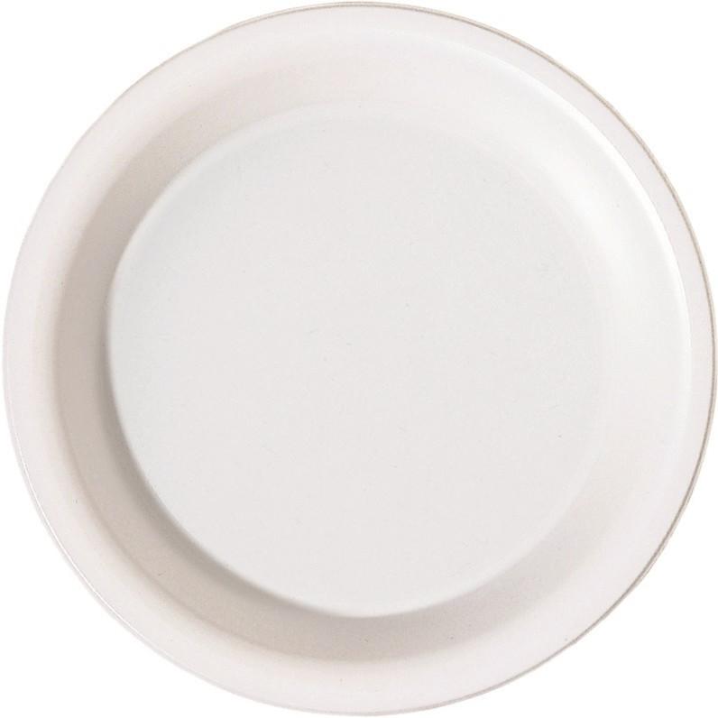 2cdac1c2 Tallerken dyb plast rund hvid 19 cm - 50 stk. - Køb billigt på Grafical.dk