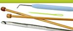 Strikkepinde og hæklenåle