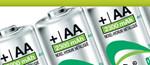 Genopladelige Verbatim og Energizer Batterier